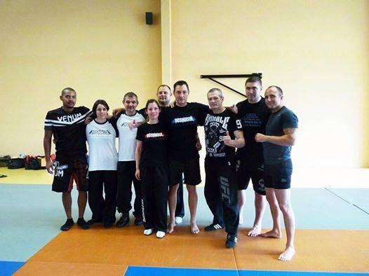 Stage MMA&Grappling avec la Team Quoniam